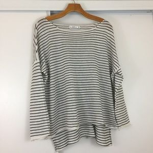 Zara Stripe Oversized Long Sleeve ❣️